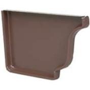 Amerimax Home Products 2520519 Brown Aluminium Left Hand End Cap 13cm .