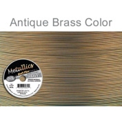 Metallics Soft Flex Best Beading Wire Antique Brass .60cm - 9.1m
