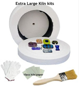 Professional Extra Large Microwave Kiln Kit 4 Piece Set
