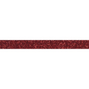 Glitter tape 5 m x 1,5 cm - red
