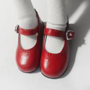 MSD Shoes 1/4 BJD Shoes Dollfie DREAM student Red Shoes for Luts AOD DOD Dollmore