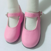 MSD Shoes 1/4 BJD Shoes Dollfie DREAM student Pink Shoes for Luts AOD DOD Dollmore