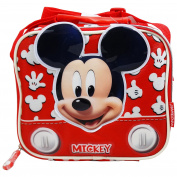 Disney Mickey Mouse Funny Lunchbox Shoulder Bag Pic-nic Nursery School Kid