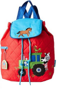 Bavaria Home Style Collection Children's Backpack red red