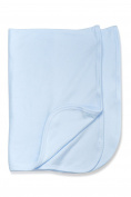 Baby Jay- Sky Blue Soft Cotton Boys Receiving Swaddling Burping Blanket