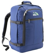 Cabin Max Backpack Flight Approved Carry On Bag Massive 44 litre Travel Hand Luggage 55x40x20 cm - Metz Navy