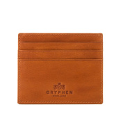 Hoxton Slim Leather Credit Card Holder Wallet by Gryphen