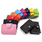 Credit Bank Card Holder Card Case - 24 Card Slots