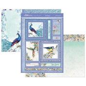 Hunkydory Mirri Magic Fantastic Feathers Topper Set Card Kit