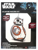 32ct Star Wars BB8 Valentine's Day Mailbox Kit with Valentines
