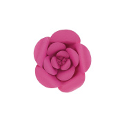 Mega Crafts 20cm Handmade Paper Flower in Fuchsia | For Home Décor, Wedding Bouquets & Receptions, Event Flower Planning, Table Centrepieces, Backdrop Wall Decoration, Garlands & Parties