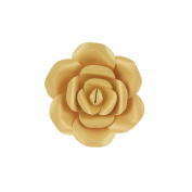 Mega Crafts 20cm Handmade Paper Flower in Gold | For Home Décor, Wedding Bouquets & Receptions, Event Flower Planning, Table Centrepieces, Backdrop Wall Decoration, Garlands & Parties