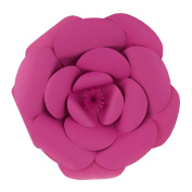 Mega Crafts 41cm Handmade Paper Flower in Fuchsia | For Home Décor, Wedding Bouquets & Receptions, Event Flower Planning, Table Centrepieces, Backdrop Wall Decoration, Garlands & Parties