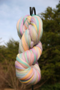 Shep's Pastel Rainbow Merino Wool Top Roving Fibre Spinning, Felting Crafts USA