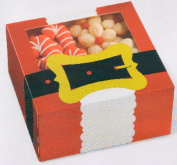Santa Christmas Treat Boxes - Package of 4