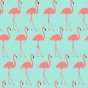 Best Wrapping Paper Pink Flamingo Wrapping Paper with Mint Green Blackground 1.4sqm