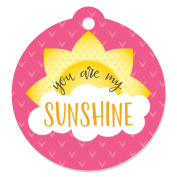 You Are My Sunshine - Baby Shower or Birthday Party Favour Gift Tags