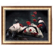Julyshop 5D DIY Diamond Painting Sexy Lady-Rhinestone Pictures Of Crystals Embroidery Kits Arts, Crafts & Sewing Cross Stitch