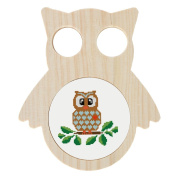 Home-X Decorative Embroidery Hoop - Owl