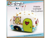 Jennifer Jangles JJGKT5364 Happy Camper Pin Cushion Needlepoint Supplies