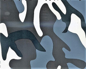 Hydrographics Film - Water Transfer Printing - Hydro Dipping - Grey Army Camo - 1 Sq. Metre