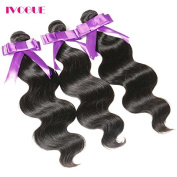 iVogue Hair Unprocessed Brazilian Virgin Hair Body Wave 3 Bundles Virgin Human Hair Extensions Natural Colour (100+/-5g)/pc 3pcs/Lot