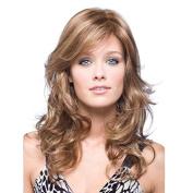 Aoert Long Body Wave Heat Resistant Side Part Wigs for Women 70cm