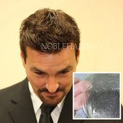 Invisible Mens Hair Replacement Sytem Toupee Ultra Thin Skin Hairpiece