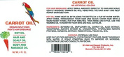 B's Jamaican Organic Carrot Oil 120ml