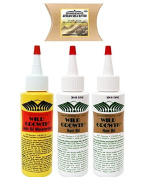 Wild Growth Set - Hair Oil 120ml ( 2 Pack ) and Light Oil Moisturiser 120ml ( 1 Pack ) with Shea Butter Packet