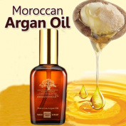 Moroccan Argan Oil for Hair, Nails, Beards and Skin, From Real Naturals, 100% Natural, Organic, Cold Pressed & Triple Extra Virgin in 100ml / 3.4oz Luxury Package.