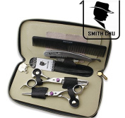 Smith Chu 15cm Professional Barber Hair Scissors Cutting and Thinning Hairdresser Shears