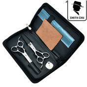 SMITH CHU 15cm Professional Barber Hair Shears Kit Salon Left-handed Cutting & Thinning Scissors Hairdressing Set