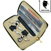 SMITH CHU 15cm Barber Hair Scissors Kit Professional Cutting & Thinning Shears Salon Razor Hairdressing Set