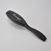 Xiweiya Abody Hair Scalp Massage Comb Hairbrush Steel Sawtooth Women Wet Curly Detangle Hair Brush for Salon Hairdressing Styling Tools +1 Pc Wig Cap