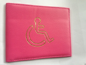 Disabled Parking Badge Holder Protector Cover Wallet PU Leather 10 Colours by Lizzy®