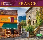 National Geographic France 2018 Wall Calendar