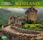 National Geographic Scotland 2018 Wall Calendar