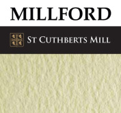 4 Sheets Millford Watercolour Paper 300gsm (60kg) NOT - 1/4 imperial