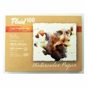 Fluid 100 Watercolour Cp 140kg Pochette 5X7