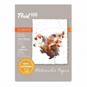 Fluid 100 Watercolour Cp 60kg Ez-Block 12X16