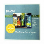 Fluid 100 Watercolour Hp 60kg Ez-Block 8X8