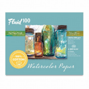 Fluid 100 Watercolour Hp 60kg Ez-Block 16X20