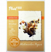 Fluid 100 Watercolour Cp 140kg Ez-Block 12X16