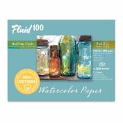 Fluid 100 Watercolour Hp 60kg Ez-Block 9X12
