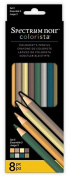 Colorista by Spectrum Noir 8 Piece Pencils