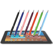 CosCosX 10pcs 2 in1 Touch Screen Stylus & Ballpoint Pen for iPad iPhone for for for for for for Samsung Tablet