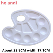 he andi 3 Pieces Paint Tray Palettes