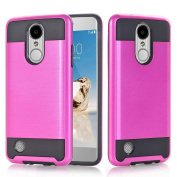 LG LV3 Case, LG Aristo Case, LG V3 Case, Asstar Dual Layer Hybrid Shockproof Impact Resist Rugged Case Cover Slim Fit Polycarbonate and Silicone TPU Hard Cove For LG LV3/Aristo/V3/MS210