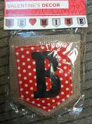 Valentine's Day Burlap Banner